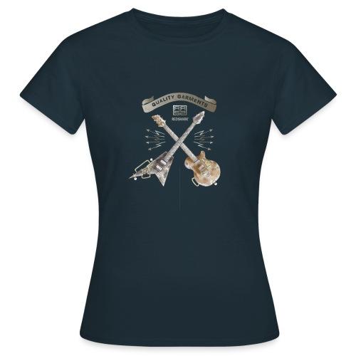 REDSHARK guitars - T-shirt Femme