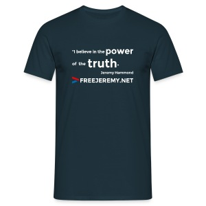 Jeremy Truth Quote Men's T-Shirt - Men's T-Shirt