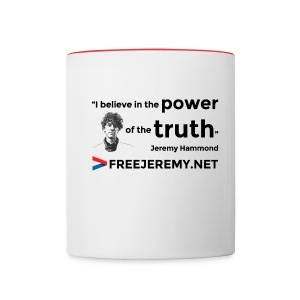 Jeremy Truth Quote Mug - Contrasting Mug