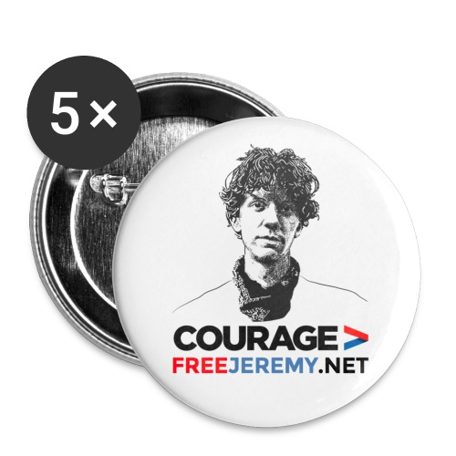 Jeremy Hammond Badges - Buttons large 56 mm