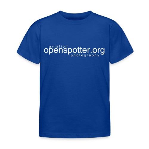 Kinder T-Shirt - Ideal für den Spotternachwuchs...
