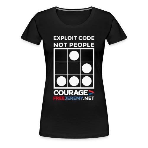 Free Jeremy Hacktivist Women's T - Women's Premium T-Shirt
