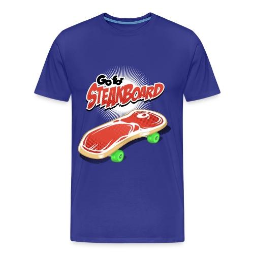 Steakboard - Camiseta premium hombre