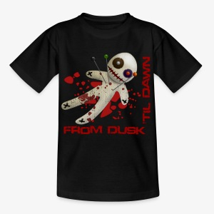 Teenage T-shirt - Superior quality boys tee shirt with the From Dusk 'til Dawn Voodoo Doll logo
