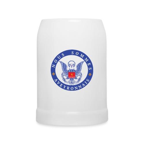 Chope de Bière NSA 1 - Chope en céramique