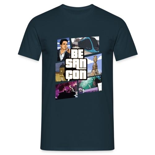 Tee Shirt Besançon GTA Homme - T-shirt Homme