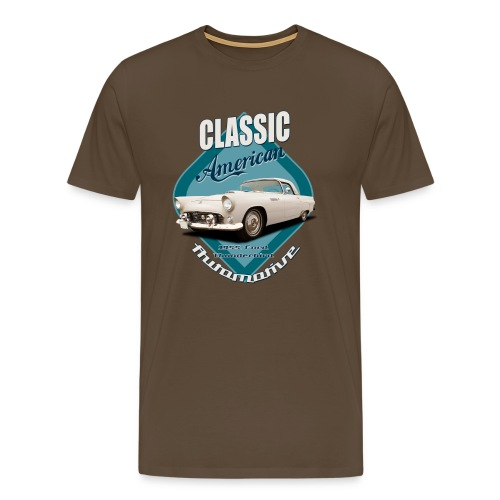 Men's Premium T-Shirt Ford Thunderbird | Classic American Automotive - Men's Premium T-Shirt