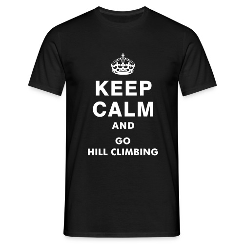Keep Climb And Go Hill Climbing Tee - Men's T-Shirt