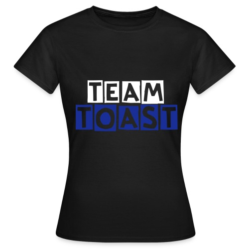 Team Toast Dame - Dame-T-shirt