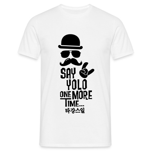 T-shirt say Yolo - T-shirt Homme