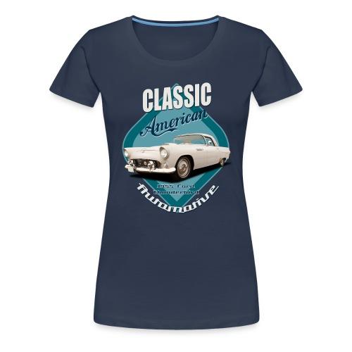 Women's Premium T-Shirt Ford Thunderbird | Classic American Automotive  - Women's Premium T-Shirt