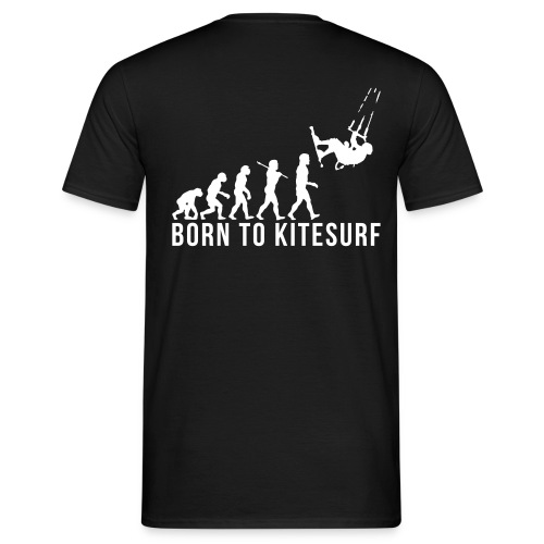 Born To Kitesurf - T-shirt Homme