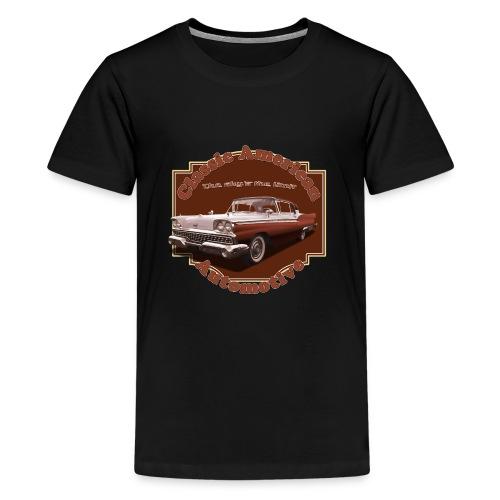 Teenage Premium T-Shirt Ford Skyliner | Classic American Automotive  - Teenage Premium T-Shirt