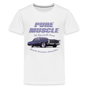 Teenage Premium T-Shirt Plymouth Fury | Classic American Automotive  - Teenage Premium T-Shirt