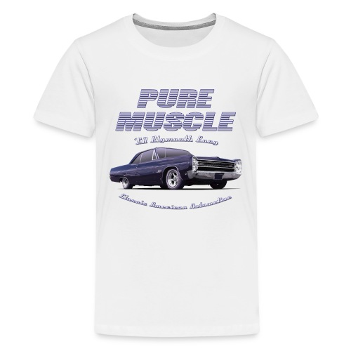 Teenage Premium T-Shirt Plymouth Fury | Classic American Automotive  - Teenage Premium T-Shirt