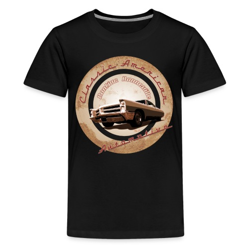 Teenage Premium T-Shirt Pontiac Bonneville | Classic American Automotive  - Teenage Premium T-Shirt