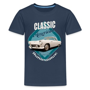 Teenage Premium T-Shirt Ford Thunderbird | Classic American Automotive - Teenage Premium T-Shirt