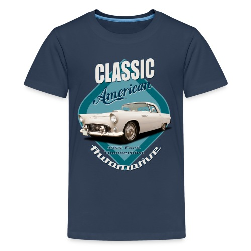 Teenage Premium T-Shirt Ford Thunderbird | Classic American Automotive - Teenage Premium T-Shirt