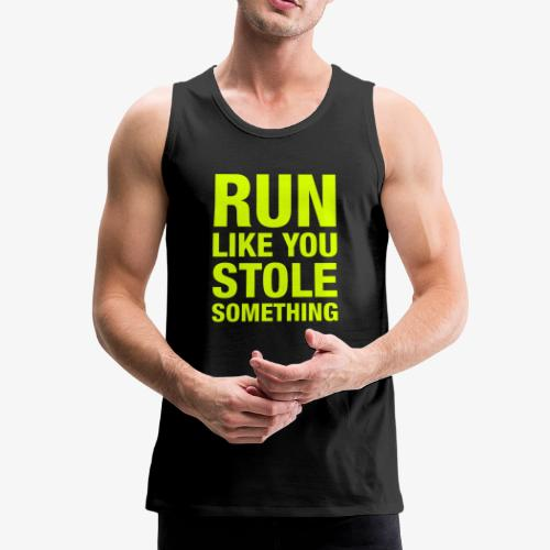 Motivation Running Clothing - Men's Premium Tank Top