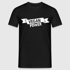 Vegan Power T-Shirts - Men's T-Shirt