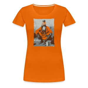 Sadhu - Indian holy man   - Women's Premium T-Shirt