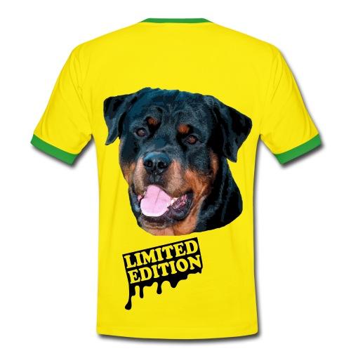 rodweler - T-shirt contrasté Homme