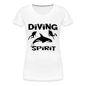 Diving Spirit - Frauen Premium T-Shirt