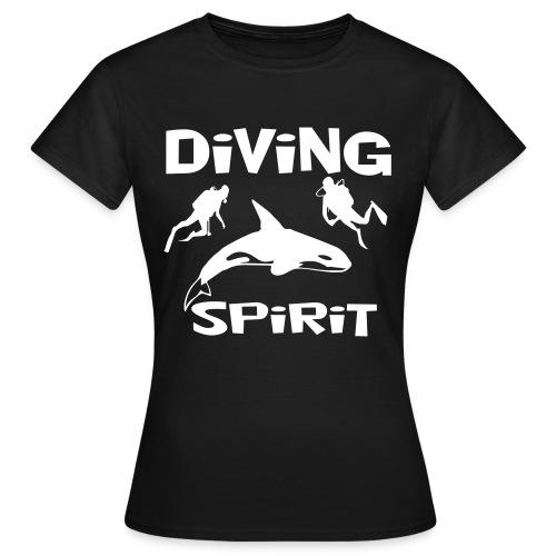 Diving Spirit - Frauen T-Shirt