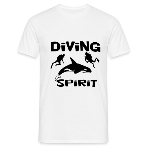 Diving Spirit - Männer T-Shirt