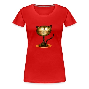 Happy Cat - Frauen Premium T-Shirt