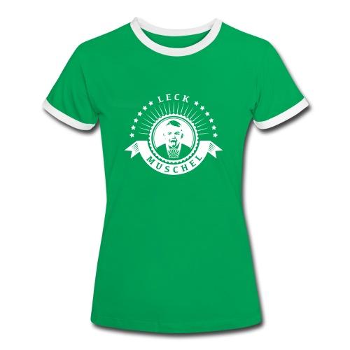 Leckmuschel T-Shirt Girl - Frauen Kontrast-T-Shirt