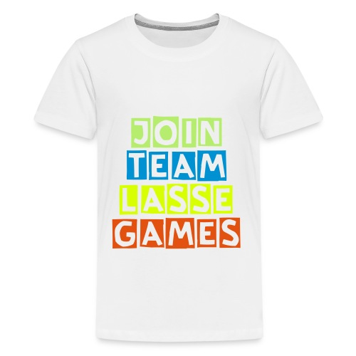Lasse Games T-Shirt Premium - Teenage Premium T-Shirt
