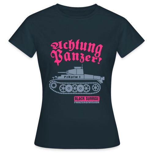 T-shirt Donna AchtungPanzer v2 - Maglietta da donna