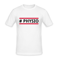 T-Shirts ~ Männer Slim Fit T-Shirt ~ #physio