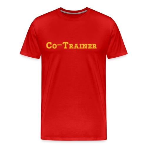 Co-Trainer, Rot - Männer Premium T-Shirt