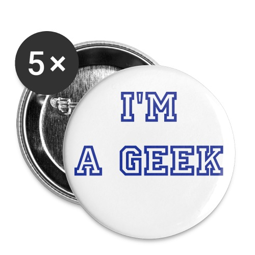 Pack de 5 pin's - Badge petit 25 mm