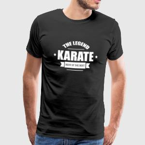 Karate The Legend T-Shirts - Men's Premium T-Shirt