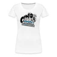 T-shirts ~ Premium-T-shirt dam ~ 100% BLEKINGE