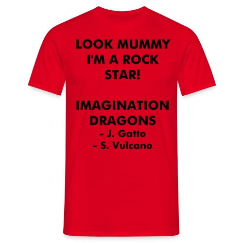 Imagination Dragon's - Men's Shirt - Men's T-Shirt
