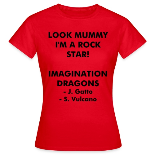 Imagination Dragon's - Women's Shirt - Women's T-Shirt