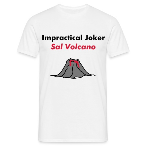 Impractical Joker - Sal Volcano (Men's) - Men's T-Shirt