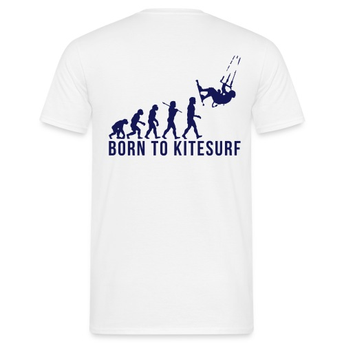 Born To Kitesurf - T-shirt Homme