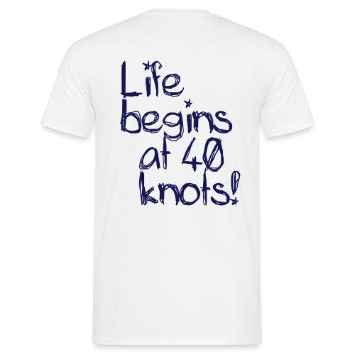 Kitesurf 40 knots - T-shirt Homme