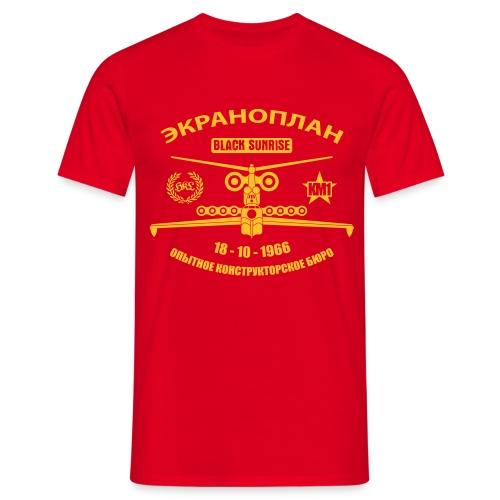 Tshirt Uomo Ekranoplan v2 - Maglietta da uomo