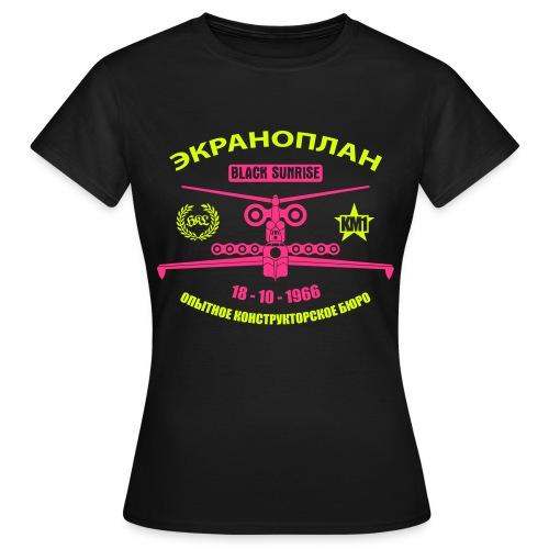 Maglietta Donna Ekranoplan v2 - Maglietta da donna