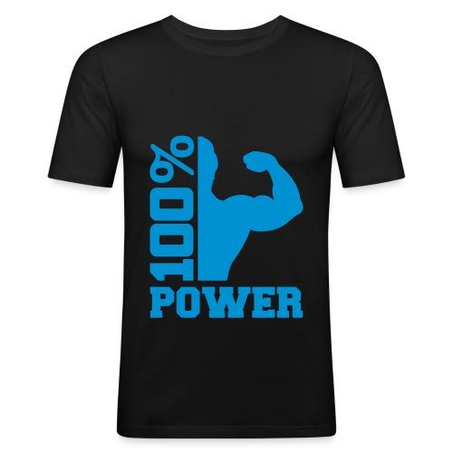 Männer Slim Fit 100% - Männer Slim Fit T-Shirt