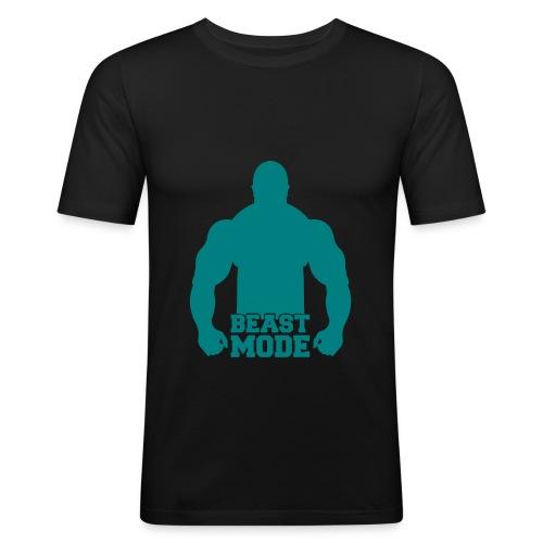 Männer Slim Fit Beast - Männer Slim Fit T-Shirt