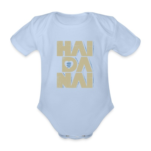HAIDANAI - d'r Schdrambler - Baby Bio-Kurzarm-Body