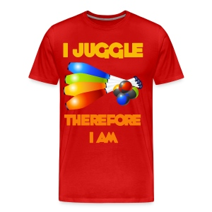 I Juggler Therefore I Am - Men's Premium T-Shirt