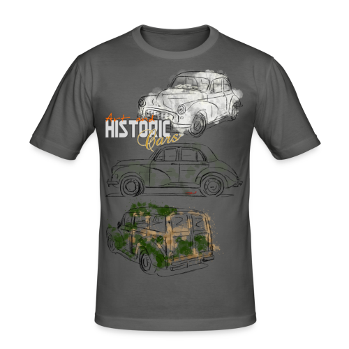 Art and historic Cars Grande - Männer Slim Fit T-Shirt